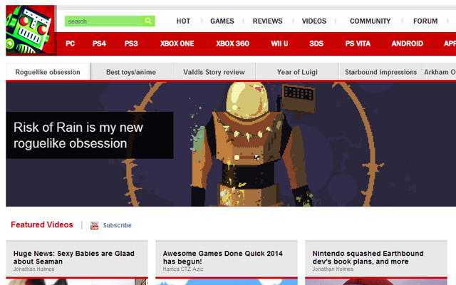 destructoid video game magazine blog news website