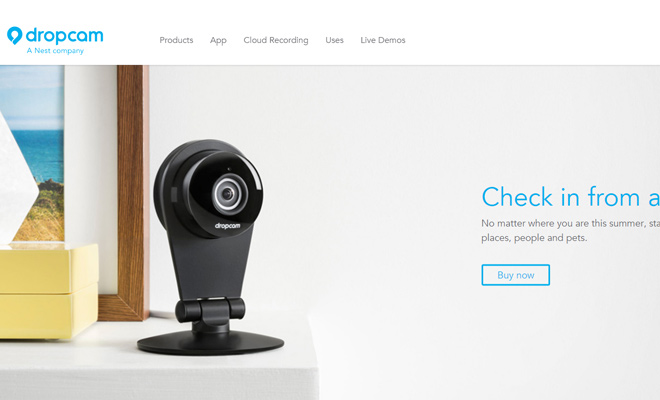 dropcam nest company technology camera