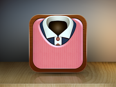 eCommerce clothes sweater iOS icon