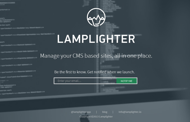 lamplighter homepage website manage plugins