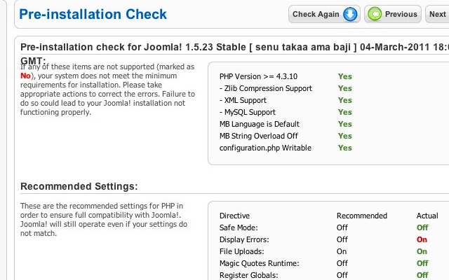 manual install joomla 1.5 howto guide tutorial
