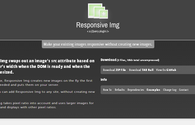 responsive html5 images webdesign tools resources