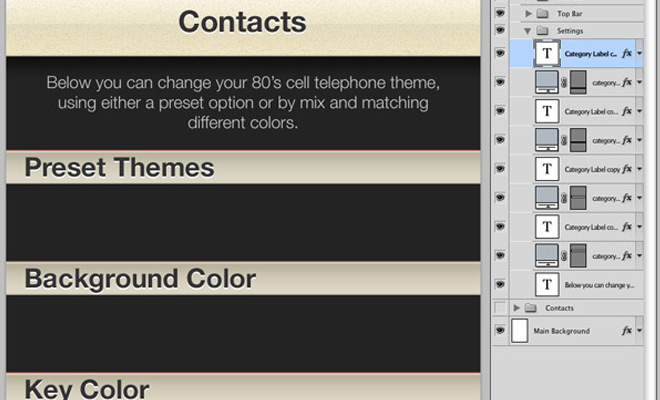 iphone contacts screen tutorial