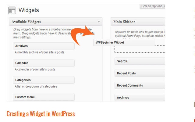 open source wordpress custom widget howto tutorial