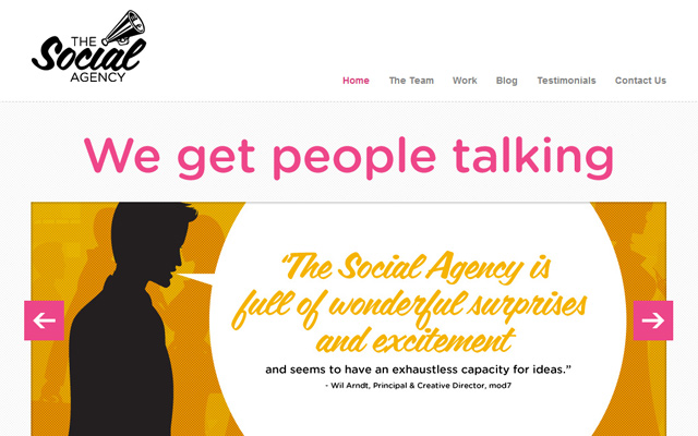 vancouver canada social media agency website pink