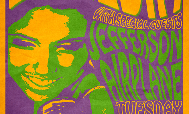 60s psychedelic concert poster tutorial