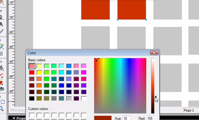 color selection web design video tutorial