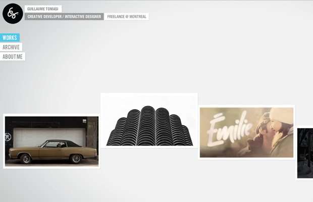 flash live website portfolio guillaume tomasi