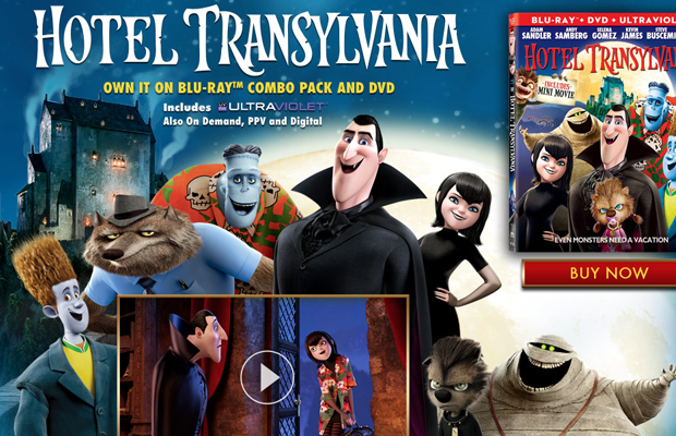 hotel transylvania movie cartoon sony website