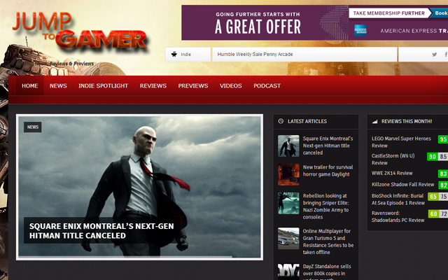 jump to gamer website homepage magazine news articles