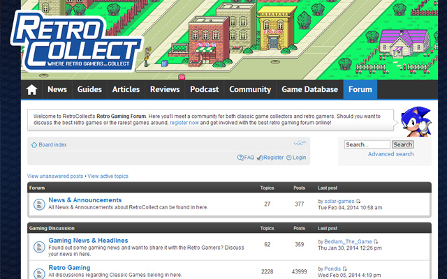 retro video game collect forum online
