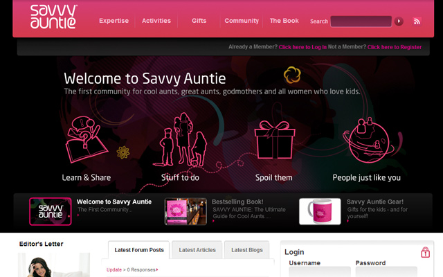 gifts for aunts godmothers pink online website community