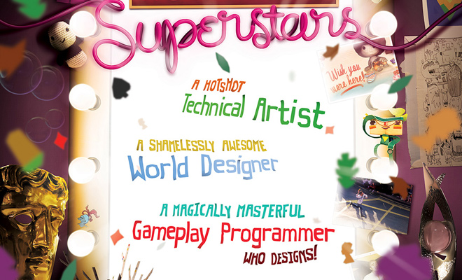 superstars job advertisement print graphics