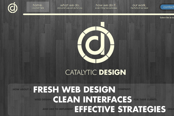 Portfolio Catalytic Design layout