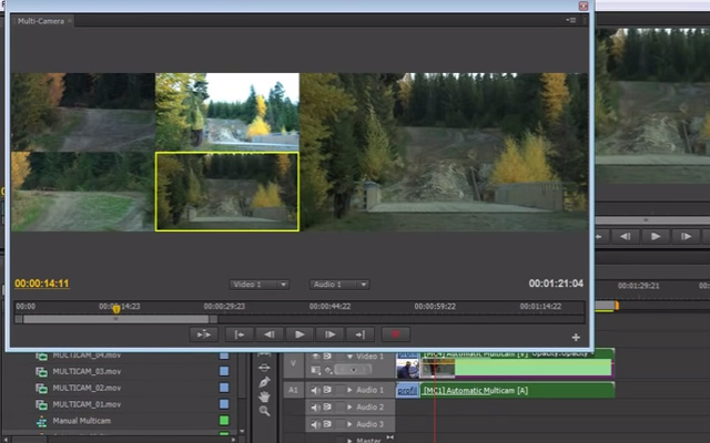 multicam edit premiere pro tutorial video youtube