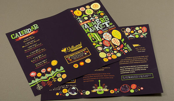 insanely beautiful leaflet designs
