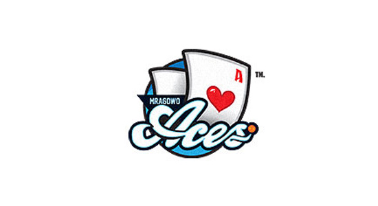 aces logo logofaves white cards