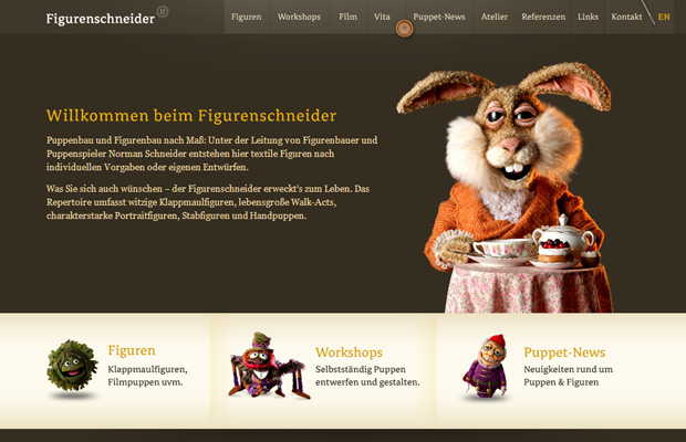figurenschneider german website layout