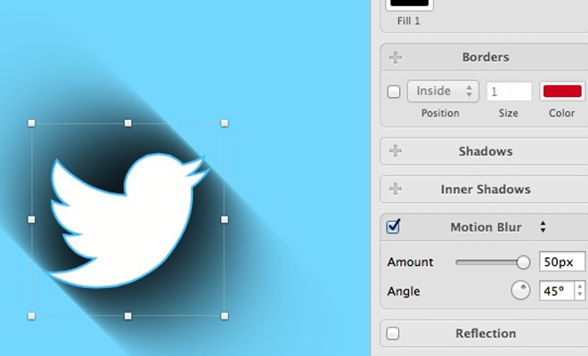 long shadow icon effect sketch3