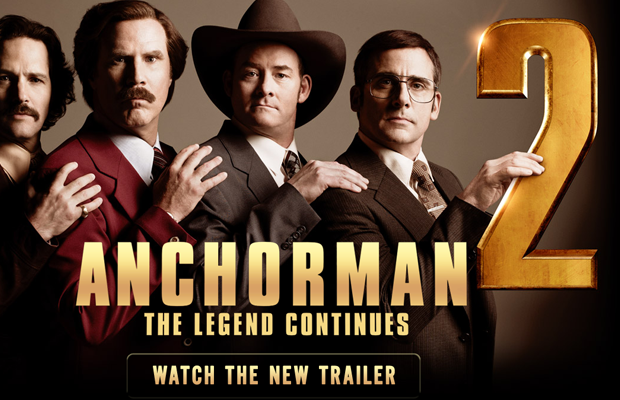anchorman2 movie website layout inspiring