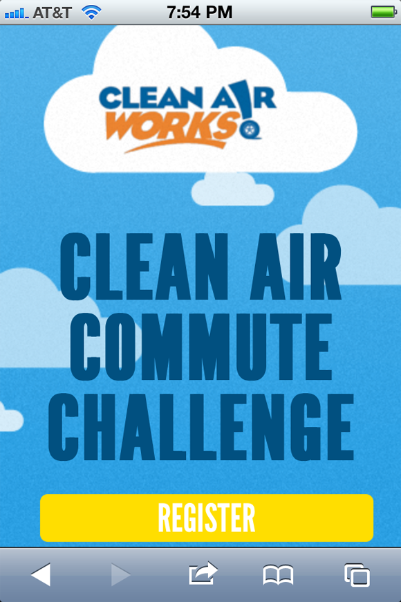 Mobile clear air challenge site