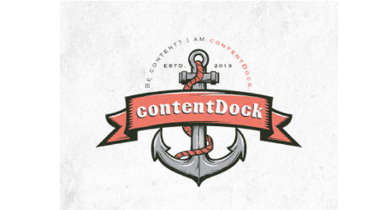 content dock logo building inspiration