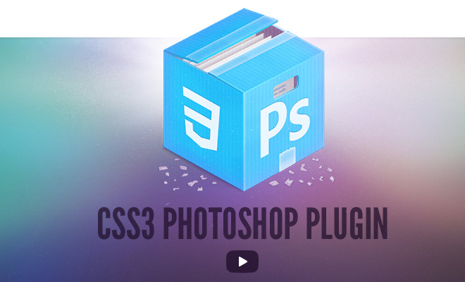 css3 ps photoshop plugin convert layers