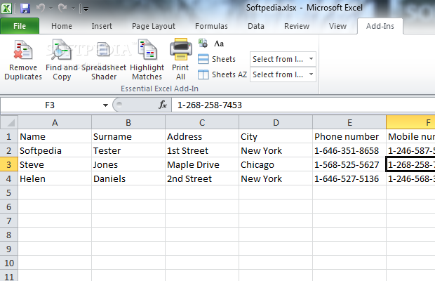 microsoft office addin essential excel tools