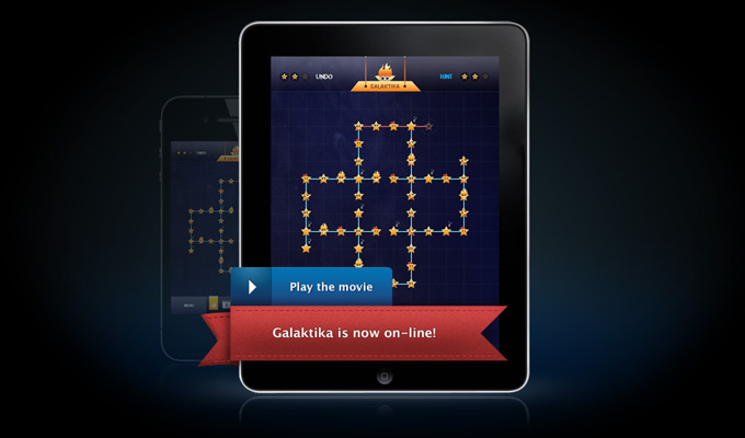 galaktika iphone game homepage