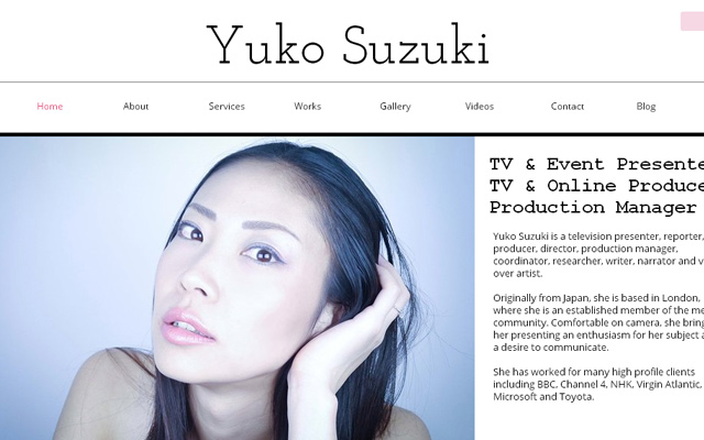 yuko suzuki tv events production manager website