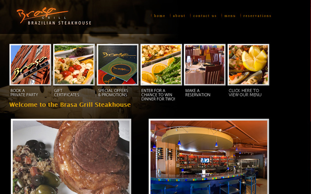 brasa brazilian grill and steakhouse website