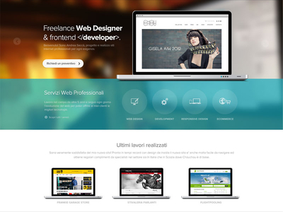final redesign homepage website layout