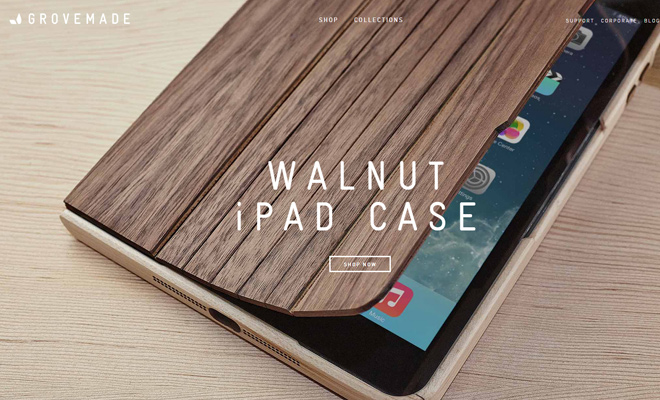 handmade wooden covers cases technology