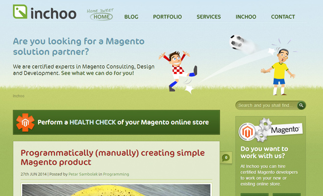 inchoo magneto strategy agency green header