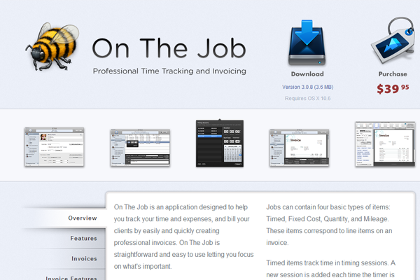 osx freelancing tools obthejob download app