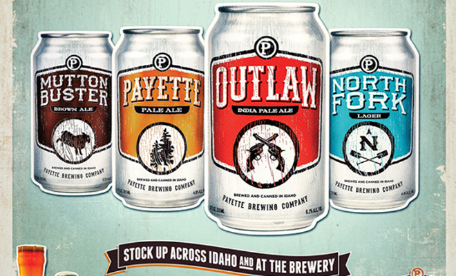 payette brewing can design print artwork