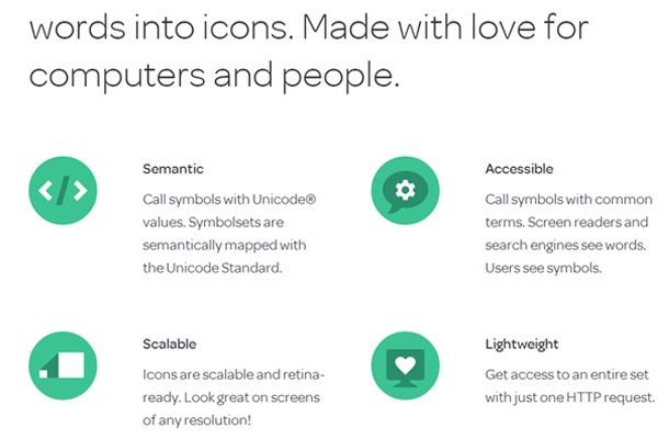 symbolset website flat icons interface