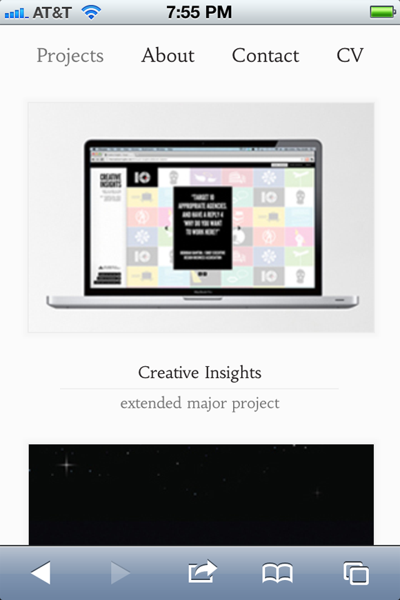 Web Design graphics portfolio