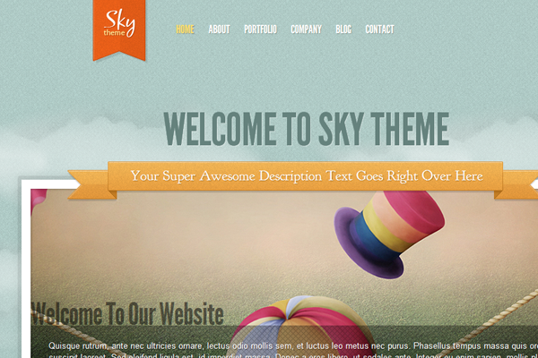Elegant Themes Sky WordPress premium template