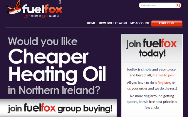 fuelfox home heating northern ireland website