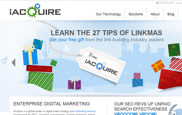 enterprise digital marketing seo iAcquire bootstrap