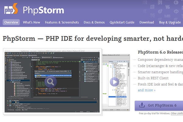 php web development app osx mac software program IDE