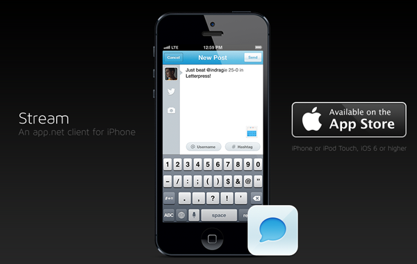 iPhone Twitter app mobile ios design