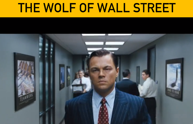 wolf of wall street movie website