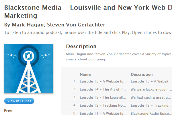 louisville new york web design marketing podcast