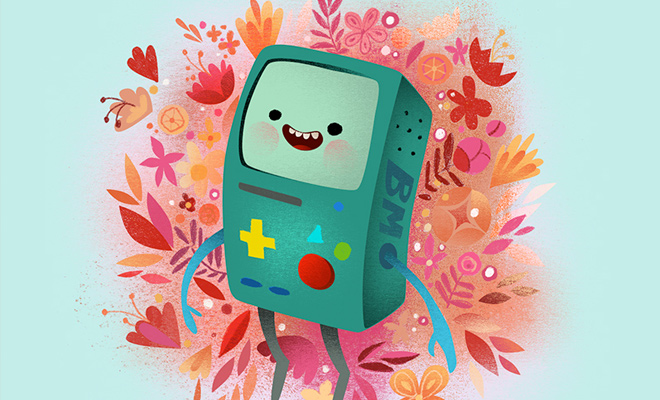 bmo mine adventure time bmo video game