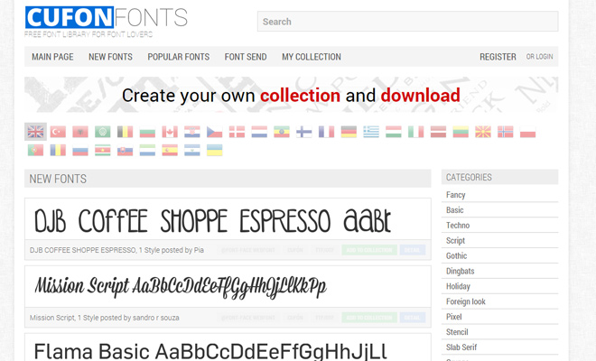 cufon fonts resource css webfonts
