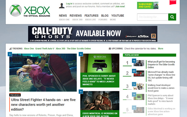 oxm official xbox microsoft gaming magazine online website