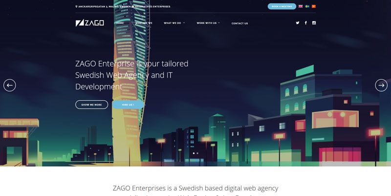 25 Eye Candy Websites Built with the Be Theme
