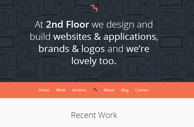 2nd floor portfolio website design